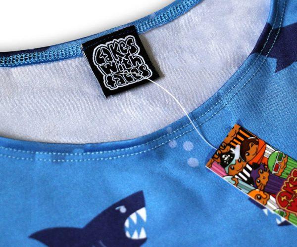 Shark Dress Label