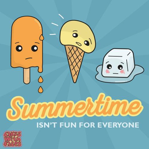Summertime isn't fun for everyone