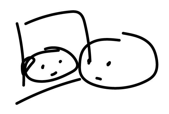 Cute doughnut sketch