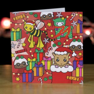 Colourful Christmas Cards