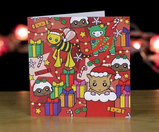 Colourful Christmas Cards