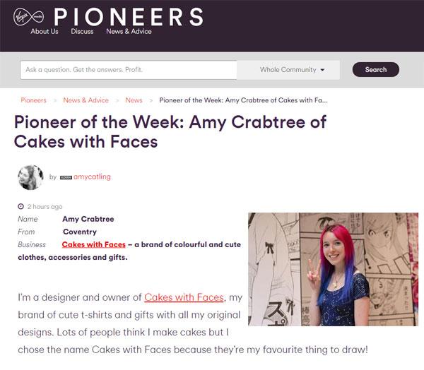 Virgin Media Pioneers