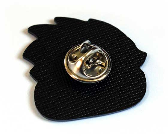 Cute hedgehog pin badge