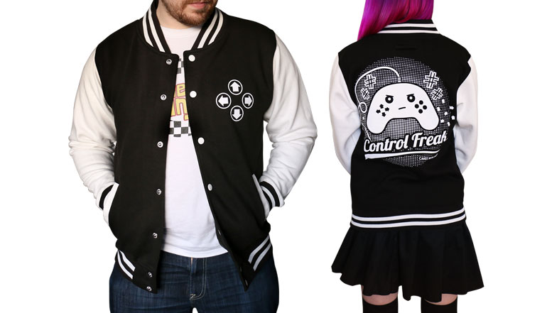 Control Freak Varsity Jacket Pre-order
