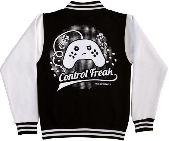 Control Freak Varsity Jacket