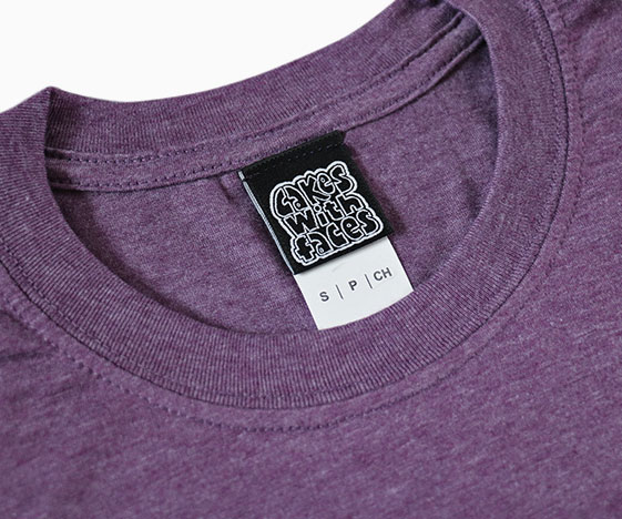 Hold Me T-Shirt Label