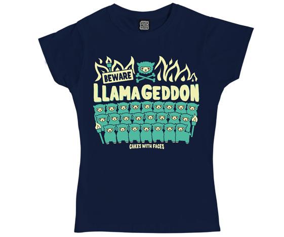 Llamageddon Ladies T-Shirt