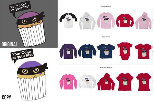 Cake or Life Stolen T-Shirt Design