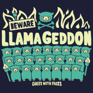 Llamageddon Llama Hoodie