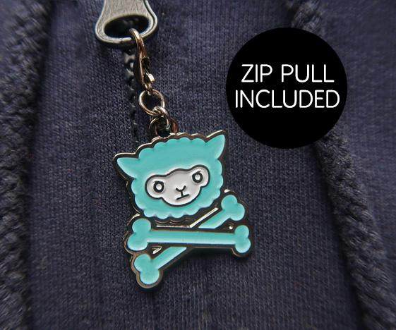 Llama Zip Pull
