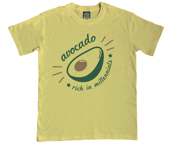 Avocado Mens T-Shirt