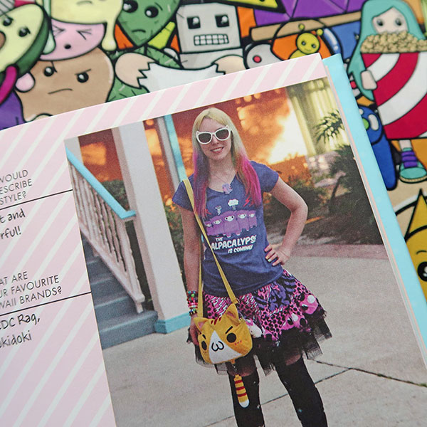 Amy Crabtree (Cakes with Faces) in the Super Cute Book of Kawaii