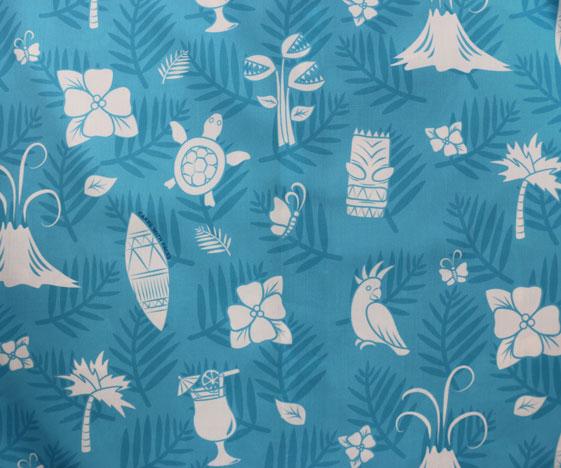 Blue Hawaiian Beach Dress