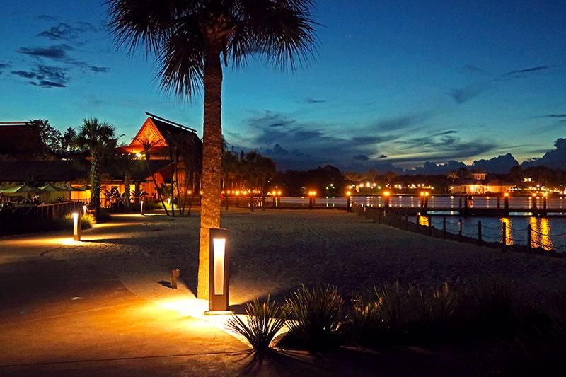 Polynesian Resort at Disney World, Florida