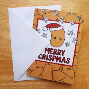 Merry Crispmas Christmas Card
