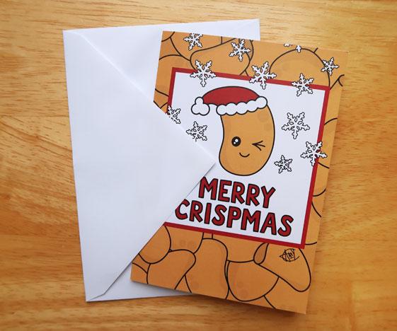 Merry Crispmas Christmas Card