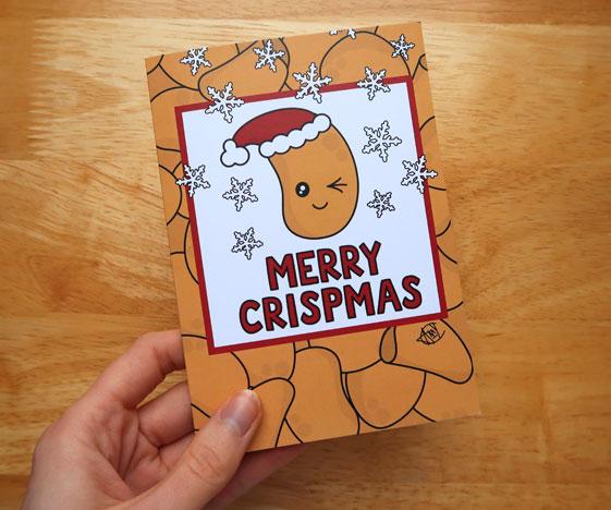 Funny Pun Christmas Card
