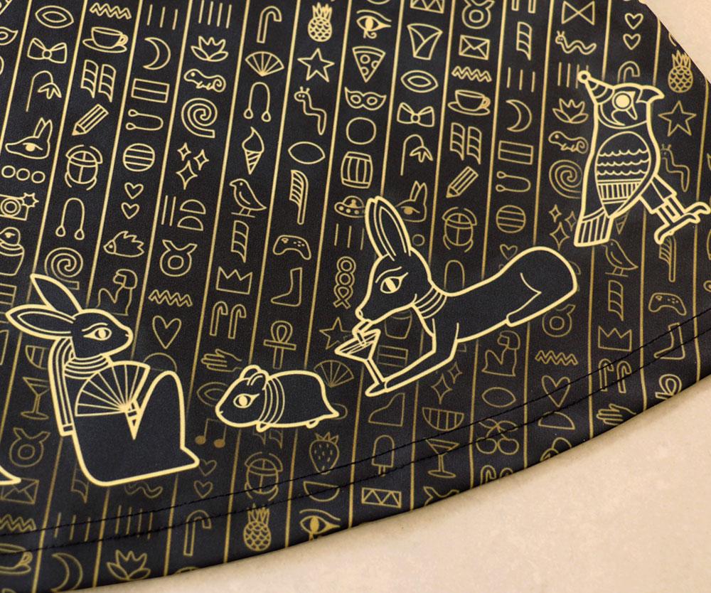 Ancient Egyptian Skater Dress