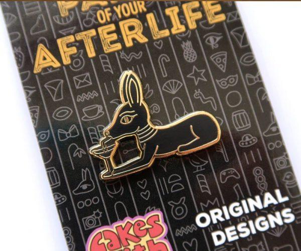 Ancient Egyptian Jackal Pin