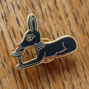Ancient Egyptian Anubis Pin