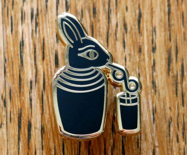 Ancient Egyptian Bunny Pin