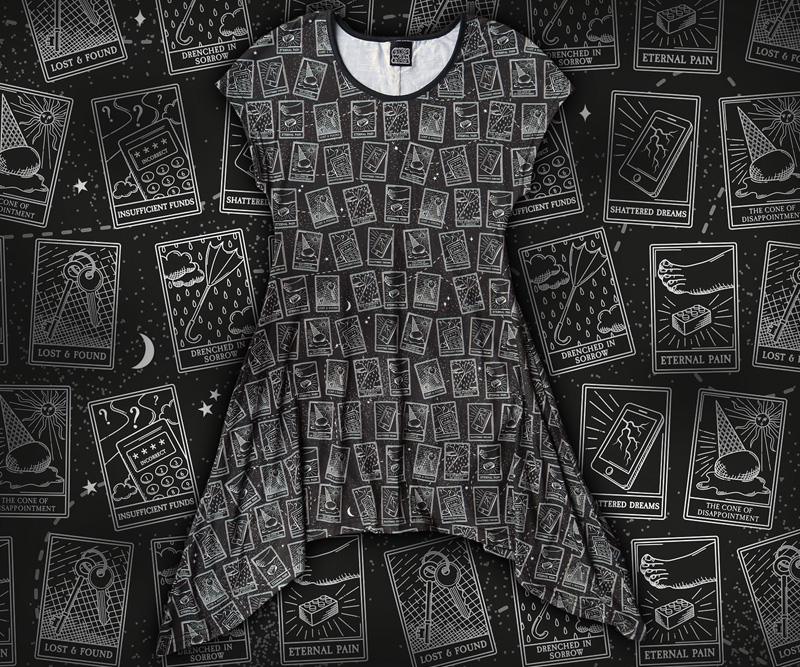 Womens Tarot Card Top