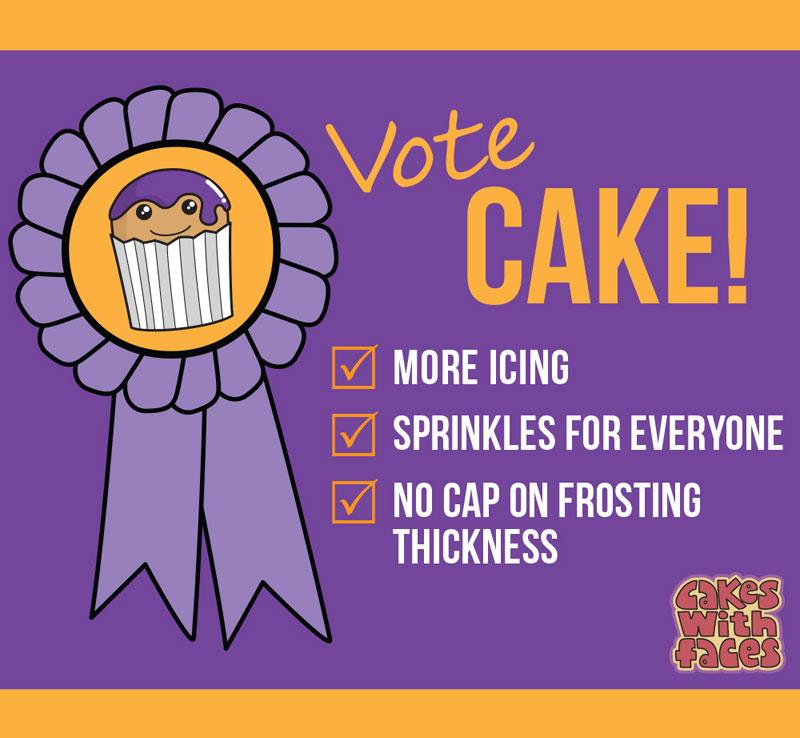 Vote Cake
