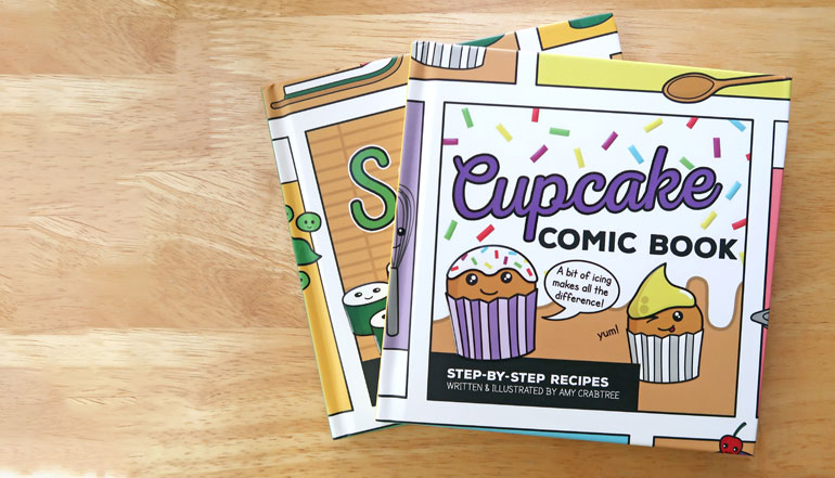 Recipe Comic Books