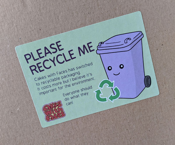 Recycle Me Sticker