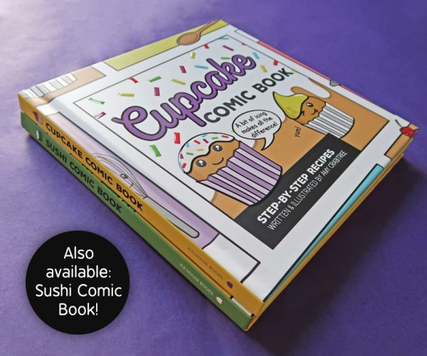 Comic Book Cookery Books