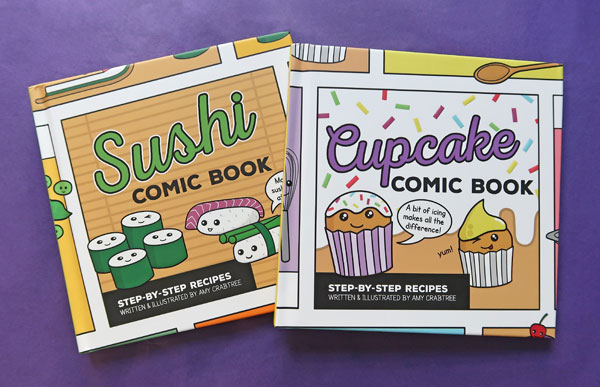 Sushi & Cupcake Comic Books from Ice House Books
