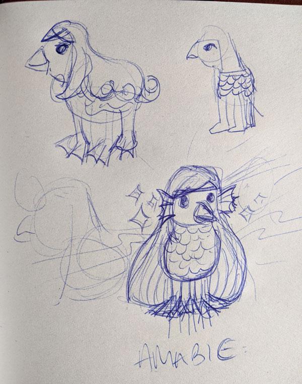 Amabie Sketch