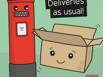 Online Shop Deliveries During COVID-19