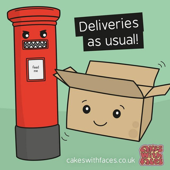 Deliveries as usual