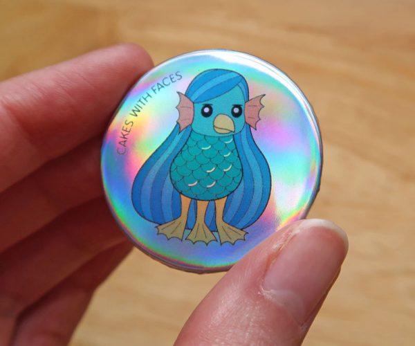 Amabie Pin Badge