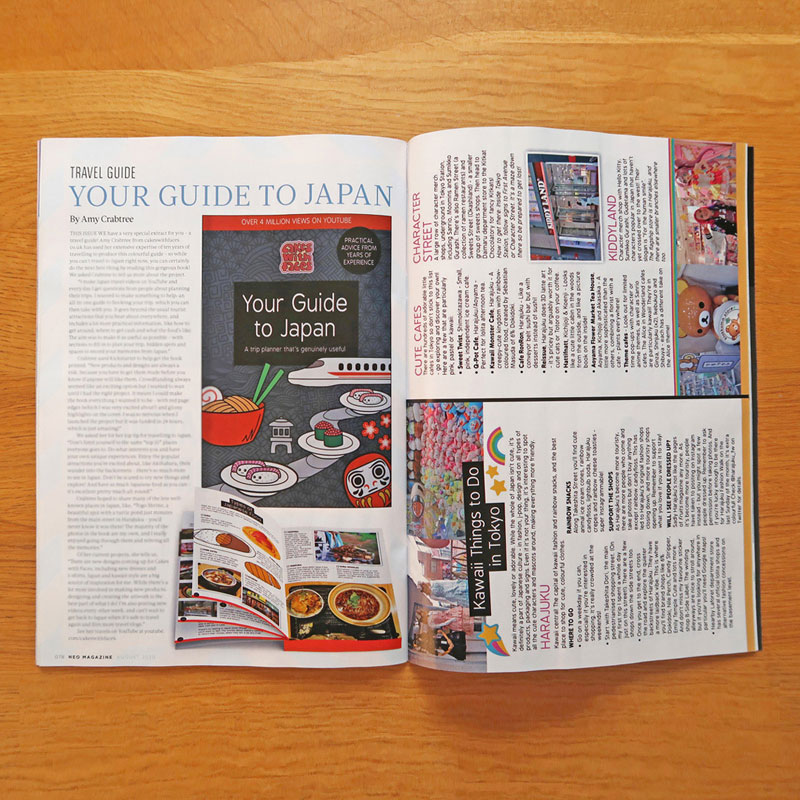 Japan Travel Guide in NEO Magazine