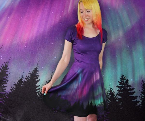 Womens Aurora Dress