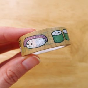 Kawaii Sushi Washi Tape