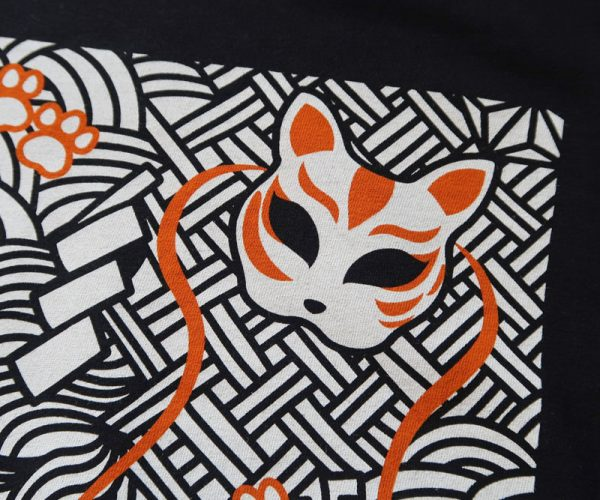 Cat T-Shirt Close-up