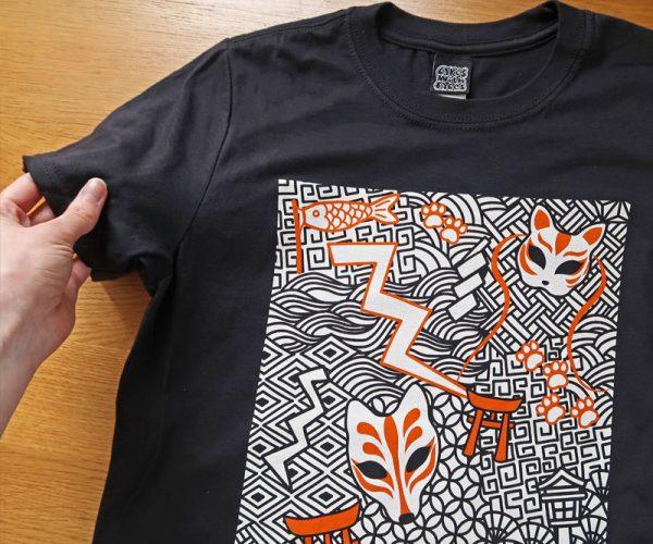 Black Japan T-Shirt