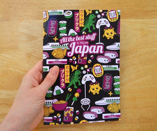 Cute A5 Japanese Notebook