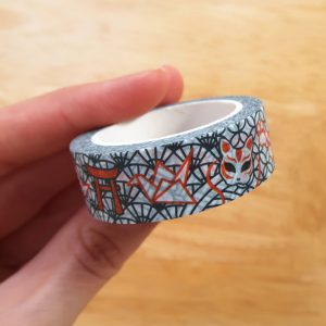 Japanese Fox Washi Tape