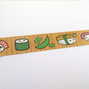 Cute Sushi Washi Tape