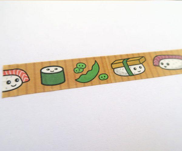 Cute Sushi Washi Tape