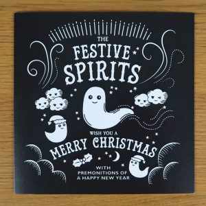Festive Spirits Christmas Card