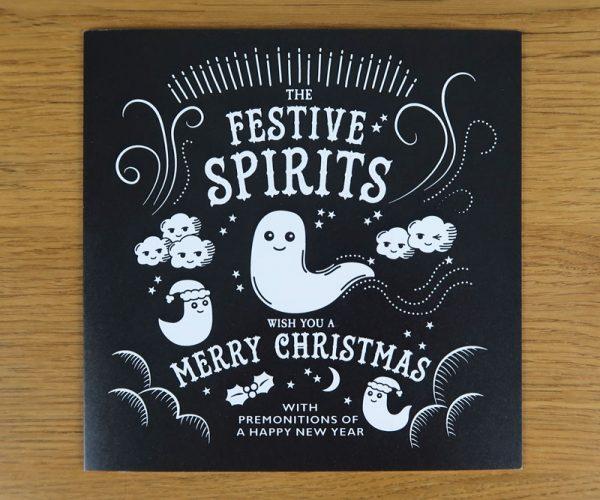 Festive Spirits Christmas Card
