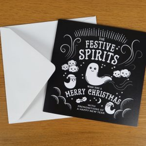Dark, Gothic, Alternative Christmas Card