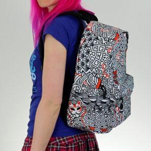 Japanese Kitsune Bag