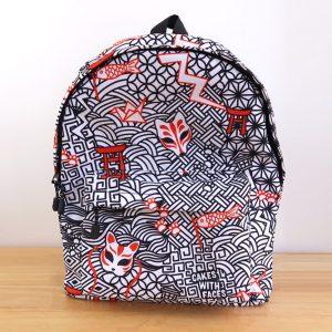 Japanese Kitsune Backpack