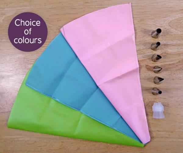 Silicon Icing Bag Set